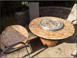hton bay fire pit table convert a wine barrel into a safe outdoor firepit