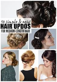 step by step easy updos for thin hair easy medium updo hairstyles 2017