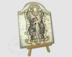 the vintage style wooden pictures decorated using decoupage method