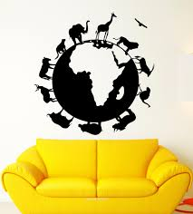 compare prices on mad animation online shopping buy low price mad animal planet earth nature silhouette wall art stickers decal home diy decoration wall mural removable room
