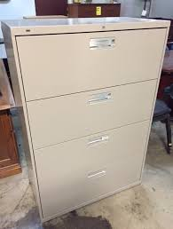 Hon 4 Drawer Lateral File Cabinet Pre Owned Office Furniture Thrifty Office Furniture