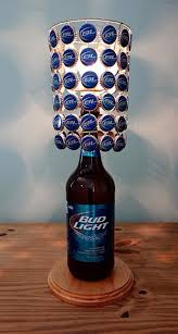 bud light beer hat 25 diy bottle ls decor ideas that will add uniqueness to your home