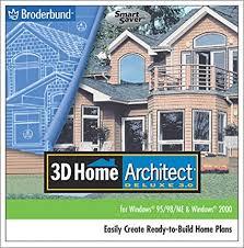 amazon com 3d home architect deluxe 3 jewel case