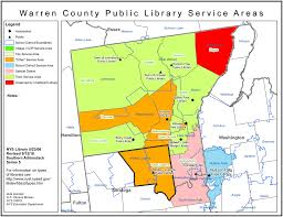 New York State Counties Map by Warren County Find Your Public Library In New York State Library