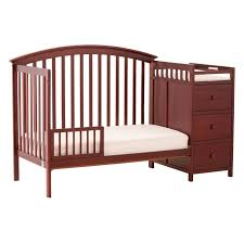 Convertible Crib Changer by Storkcraft Bradford 4 In 1 Fixed Side Convertible Crib Changer In