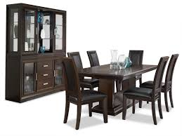 brentwood 9 piece dining package the brick dining room furniture brentwood 9 piece dining package hover to zoom