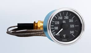 series 1 340 f oil temperature gauge with 144