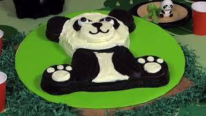 panda cake template how to make a panda cake panda birthday cake