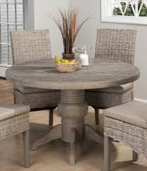 Beach Dining Room Sets by Table Round Dining Room Table Rustic Beach Style Compact Round