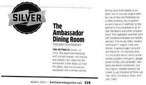 ambassador dining room baltimore ambassador dining room home baltimore maryland menu prices