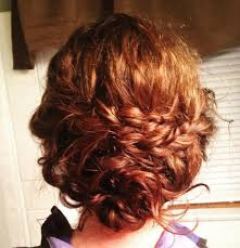 updos for curly hair i can do myself 40 creative updos for curly hair
