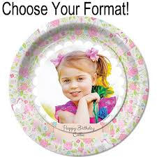 personalized dinner plate unicorn personalized dinner plates shindigz