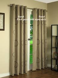 Textured Cotton Tie Top Drape by Insulated Curtains Energy Efficient Window Treatments