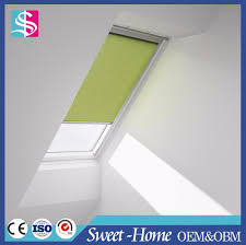 list manufacturers of roof window roller shutters buy roof window
