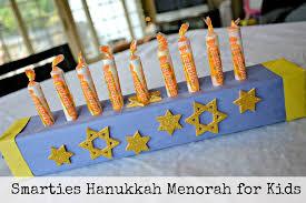 kids menorah forget the gelt smarties candy hanukkah menorah hello splendid