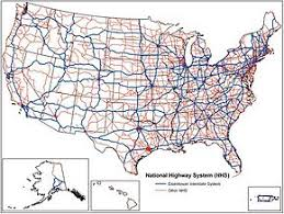 us hwy map map us highway system major tourist attractions maps