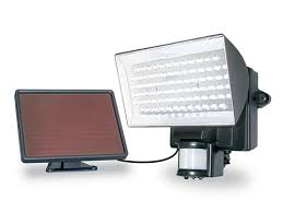 led solar security light solar flood light motion activated with super bright 80 led