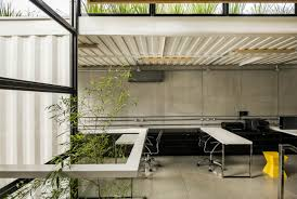 container green roofs cool co working shipping container office