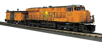halloween city lawrenceville ga mth 30 20359 1 halloween es44ac imperial diesel u0026 caboose set with