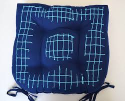 Tie On Chair Cushions Diy No Slip Chair Pads Dream A Little Bigger