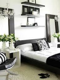 chambre à coucher blanc et noir decoration chambre blanche article les 25 meilleures ides