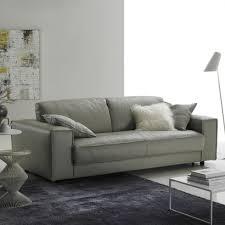 Modern Sofa Uk Minerale Modern Grey Leather Italian Sofa
