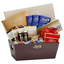 gourmet chocolate gift baskets lindt selections gift basket gourmet