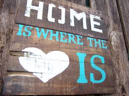 home is where the heart is pallet wood signrustic country
