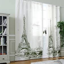Ready Made Children S Curtains 2016 Europe 3d Tower Luxury Blackout Window Curtains Ready Made