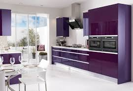 purple cabinets kitchen purple kitchen decor with purple cabinets and white wall color