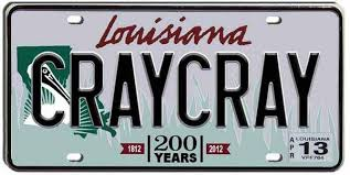 Banned Vanity Plates 100 Banned Louisiana License Plates Fox 8 Wvue New Orleans News