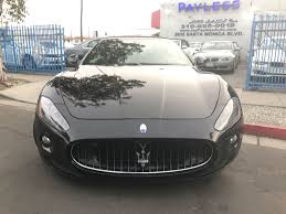 maserati granturismo grey used 2011 maserati granturismo convertible at payless auto sales