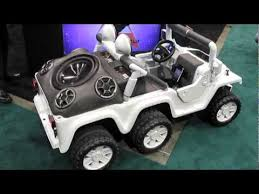 small jeep for kids custom pimped out kids jeep ces 2012 youtube