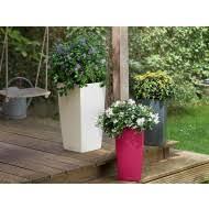 tall planters modern tower plant pots wholesale newpro
