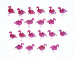 pink flamingo patio lights vintage party lights etsy