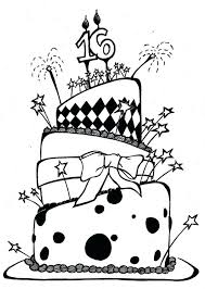 cupcakes coloring pages birthday cake preschool free cakes free