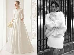 robe de mariã e hiver photos mariage d hiver 35 robes de mariée féeriques femme