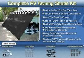 Rv Awning Screen Rv Awning Shade Kit Black Motorhome Awning Screen Trailer Kit 8x16
