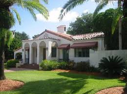 Florida Style Homes Spanish Style Home Florida Pool Home Style