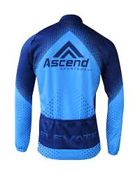 elevate thermal cycling jacket ascend sportswear
