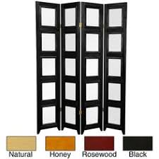 memories double sided photo frame room divider rosewood 3 panel