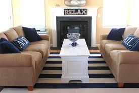 nautical beach house beach style living room philadelphia