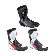 female motorcycle riding boots dainese nexus microfiber upper ladies womens motorcycle bike