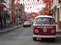 volkswagen hippie van name vw red bus also acted as ambulance complete with dad making siren
