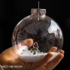 hello wonderful shrink snow globe ornament craft