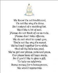 wedding poems x money request poem cards 3 different poems wedding cake design