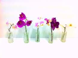 single stem vases diy floral design u2013 transform those store bought flowers laurie