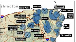 map of oregon 2 oregon oks killing 2 wolves after attacks on livestock kval