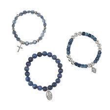 religious bracelet religious 3 stretch bracelet set avon