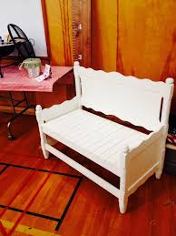 Bench Made From Bed Headboard 72 Best Repurpose Headboards U0026 Cribs Images On Pinterest Diy